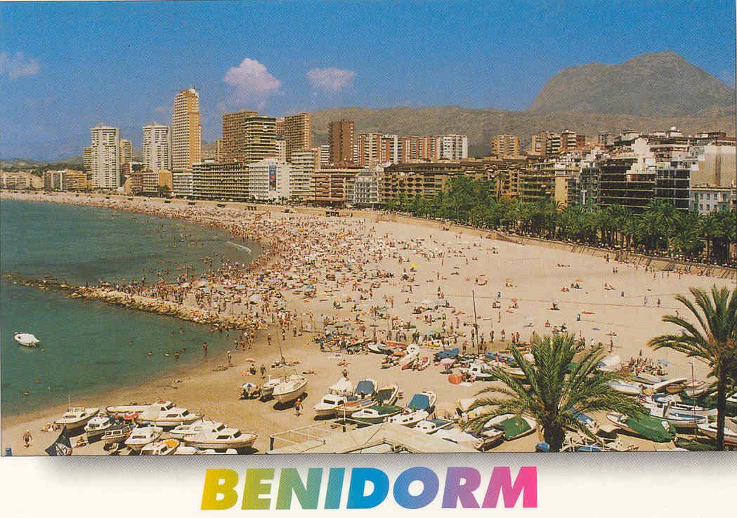 Benidorm Spain  city photo : Benidorm, Spain, July 22